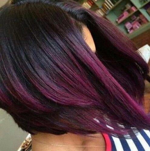 Be Sweet As A Plum 50 Plum Hair Color Shades Amp Ideas For