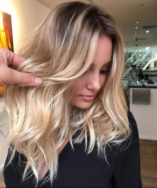 Go For an Out,of,the,Ordinary Blonde Balayage 40+ Stunning