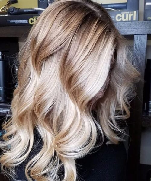 manhattan highlighted blonde balayage