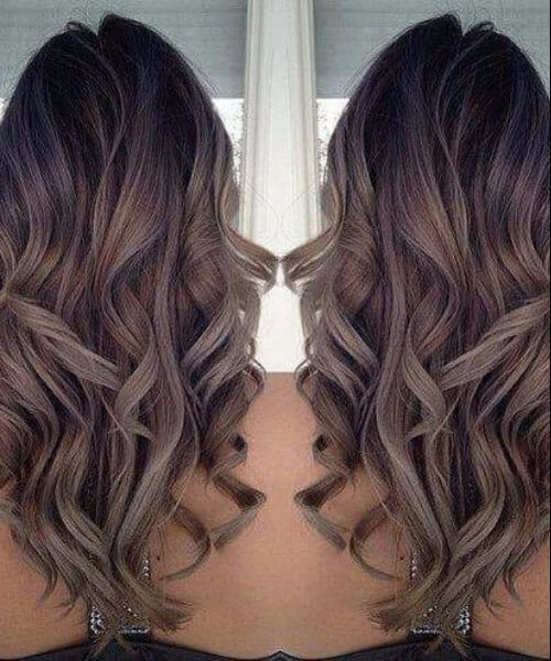 mushroom brown fall hair colors