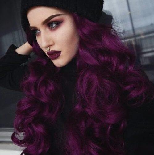 raisin plum hair color