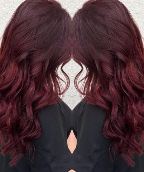 red velvet fall hair colors