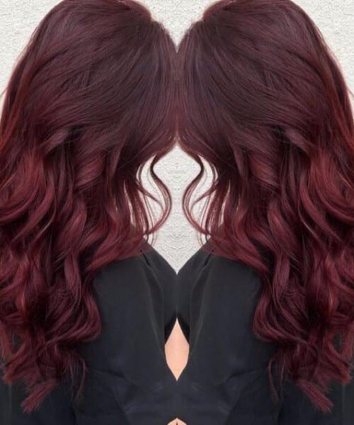 red velvet fall hair colors