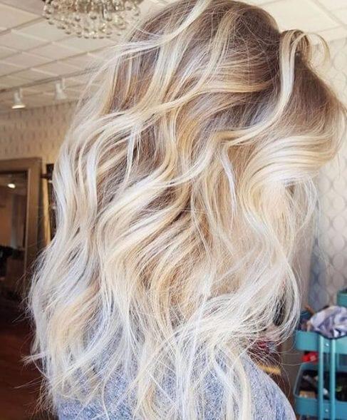 white honey fall hair colors