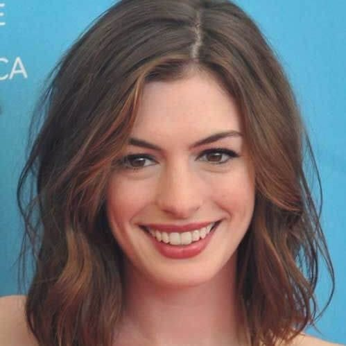 anne hathaway short hairstyles for thick hair