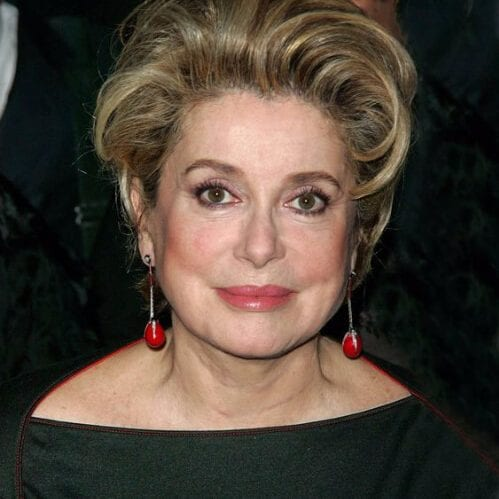 catherine deneuve hairstyles for women over 60