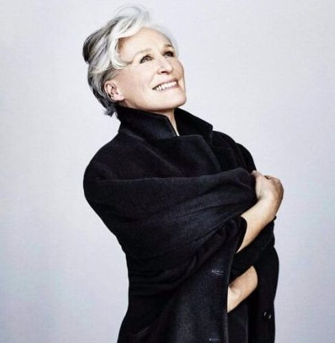 glenn close hairstyles for women over 60