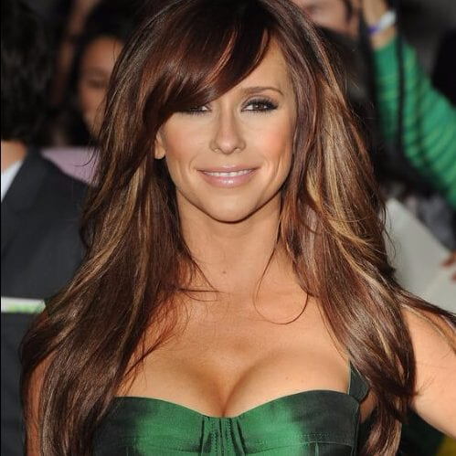 jennifer love hewitt long hair with bangs