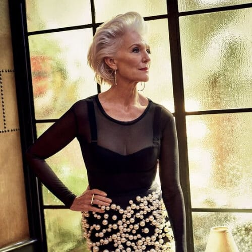 maye musk hairstyles for women over 60