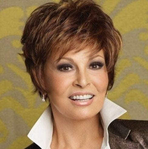 raquel welch short hairstyles for short hair