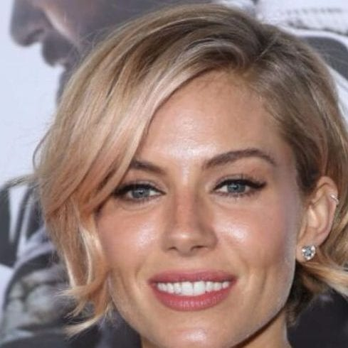 sienna miller short hairstyles for thick hair