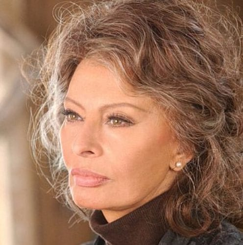 sophia loren hairstyles for women over 60