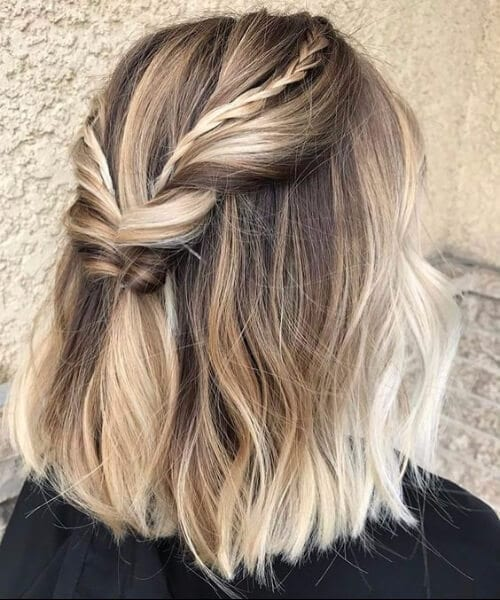 20 Dirty Blonde Hair Ideas That Work On Everyone: 45 Balayage Short Hair Ideas For All Colors