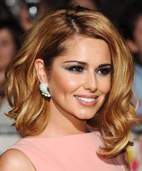 cheryl cole long bob haircuts