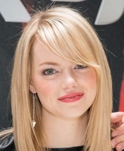 emma stone long bob haircuts