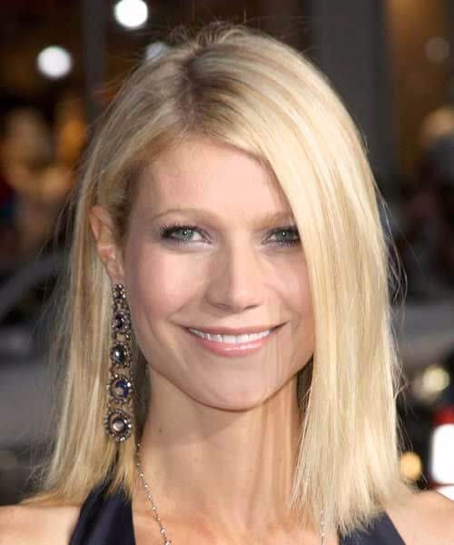 gwyneth paltrow long bob haircuts
