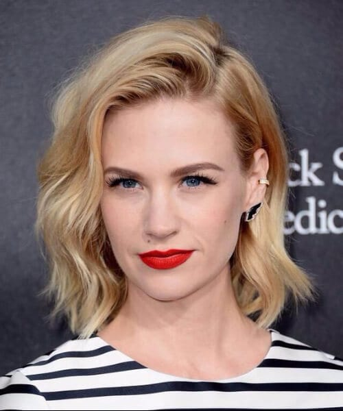 january jones layered bob