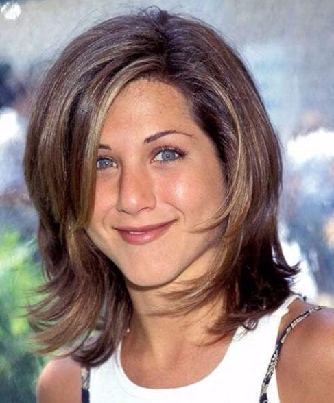 jennifer aniston layered bob