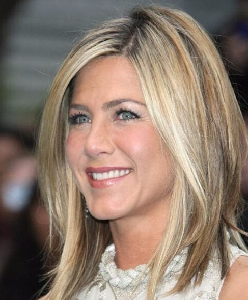 jennifer aniston long bob haircuts