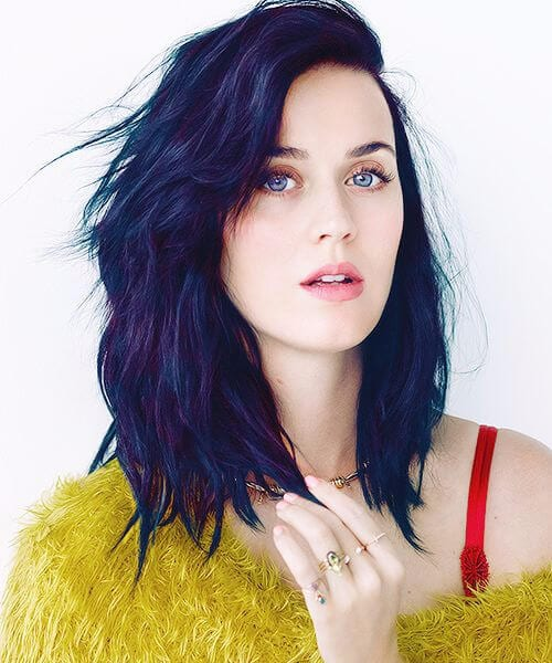 katy perry layered bob
