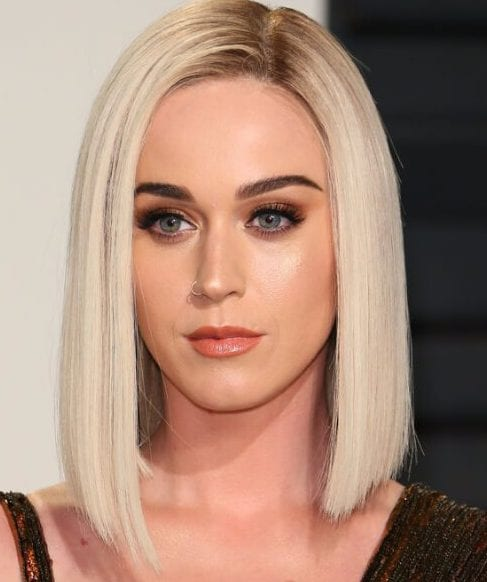 katy perry long bob haircuts