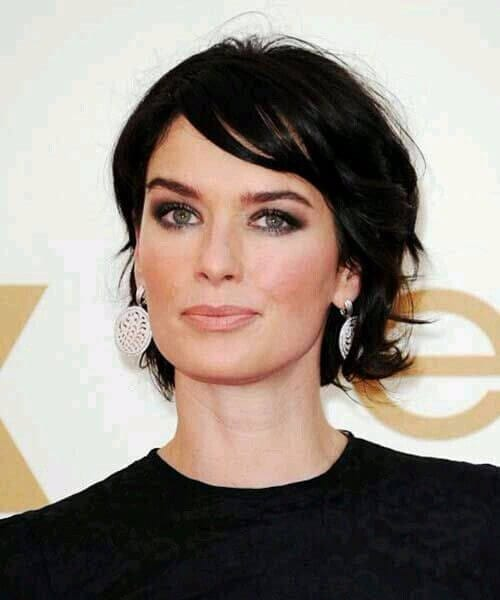 lena headey layered bob