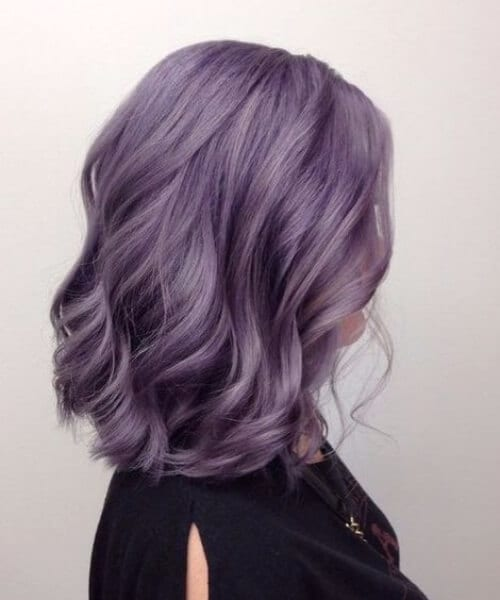 orchid balayage short hair