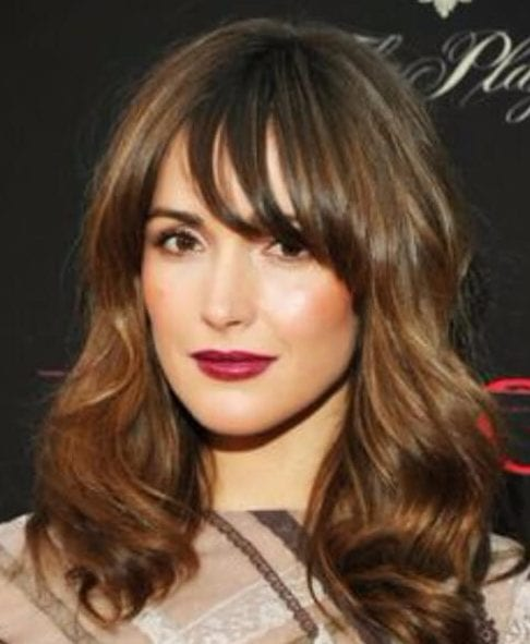 rose byrne long bob haircuts