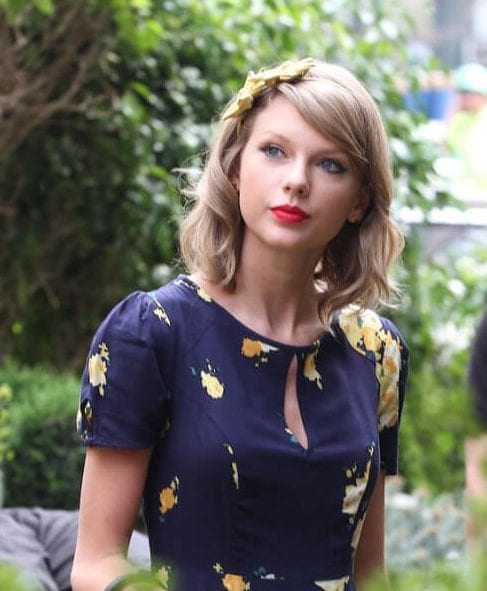 taylor swift long bob haircuts