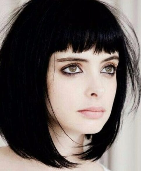 Krysten Ritter short hair with bangs