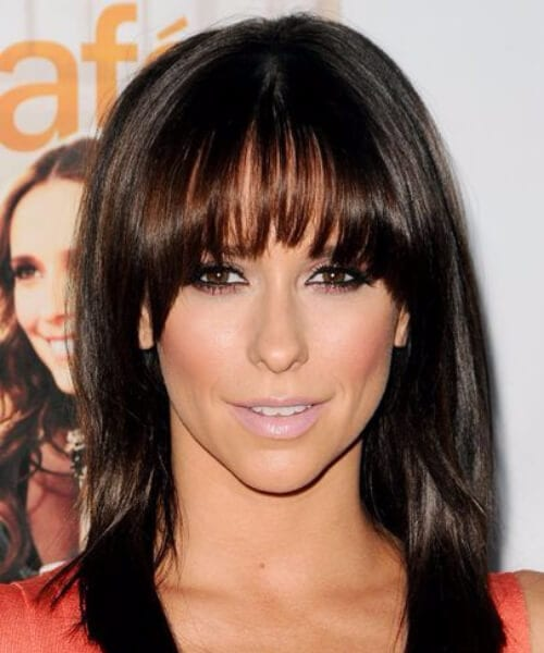 jennifer love hewitt short hair with bangs