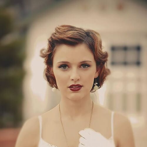 20s prom hairstyles for short hair