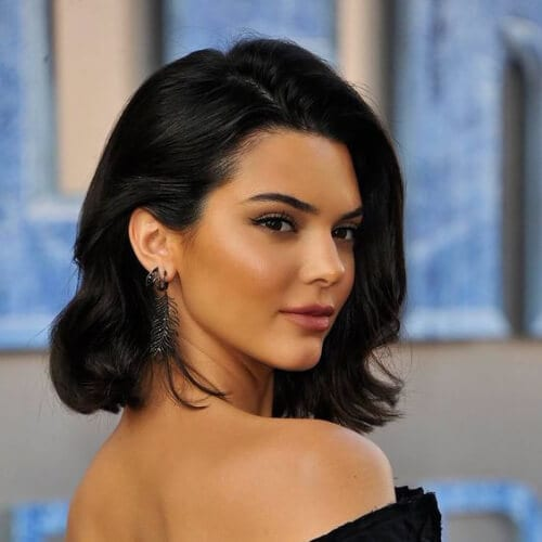 Kendall Jenner prom hairstyles for short hair