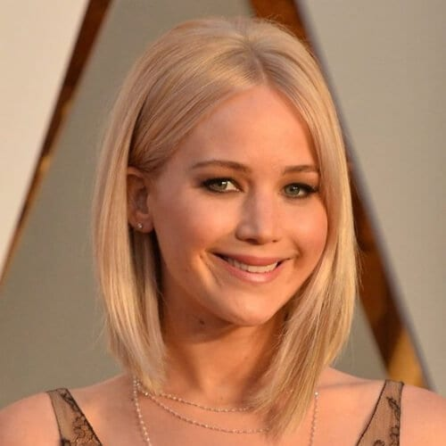 jennifer lawrence prom hairstyles for short hair