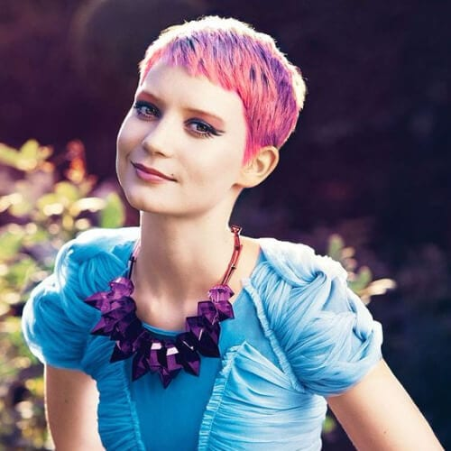 mia wasikowska prom hairstyles for short hair