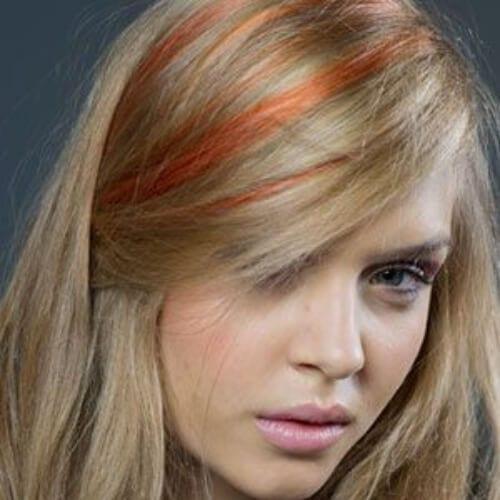 nutmeg copper peekaboo highlights