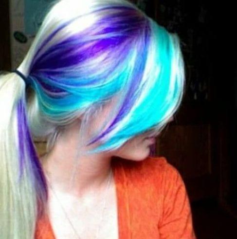 ponytail peekaboo highlights
