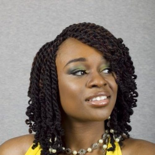 senegalese twist bob hairstyles for black women