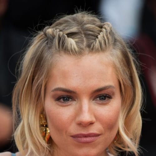 sienna miller prom hairstyles for short hair