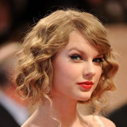 taylor swift prom hairstyles for short hair