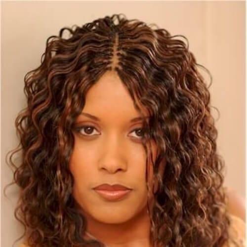 2000s curls tree braids
