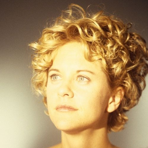 Meg Ryan with Curly Short Hair