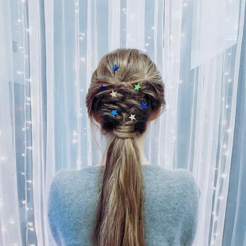holiday hairstyles for straight hair