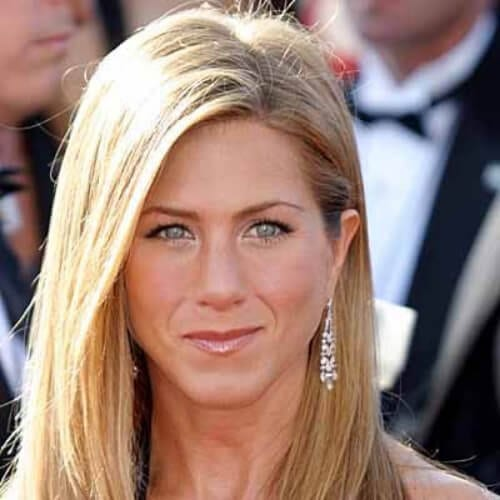 jennifer aniston hairstyles for straight hair