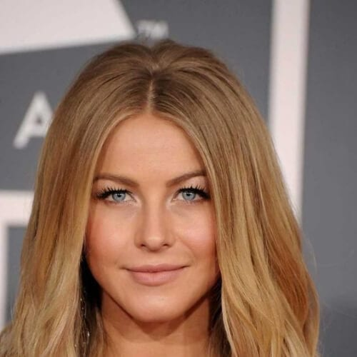 julianne hough honey brown hair