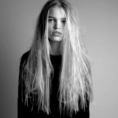 messy hairstyles for straight hair