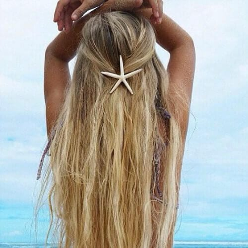 beach cool hairstyles for girls