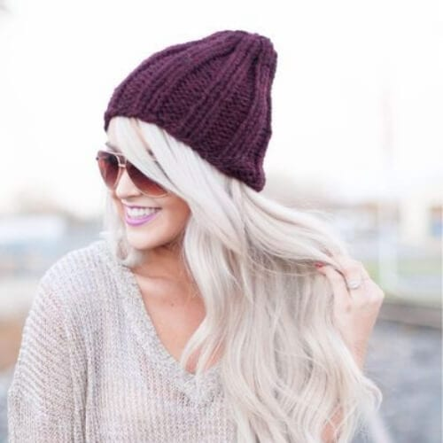 beanie cool hairstyles for girls