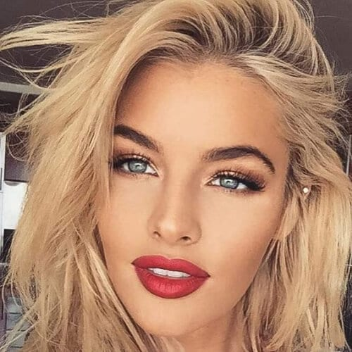 bed head blonde hairstyles