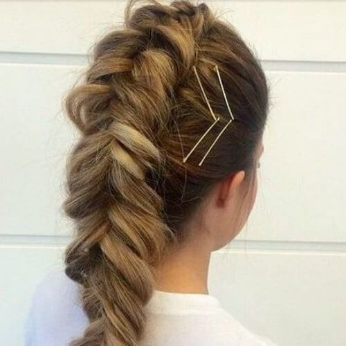 braided mohawk cool hairstyles for girls